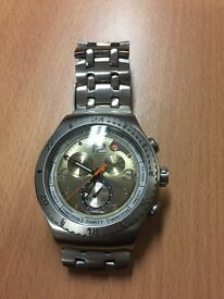 Men's swatch watch