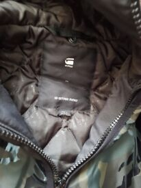 G-star camo windbreaker jacket brand new size medium