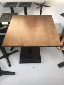 New Solid Wood table tops for Restaurant on Sell