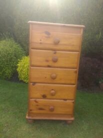 Solid Wood Chest of Drawers. North Leeds