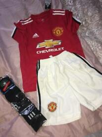 Manchester United Strip With Socks