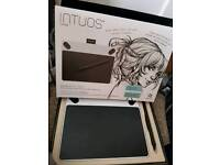 Intious draw graphics pad