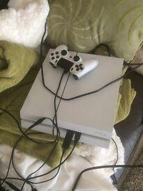 White 500gb PS4