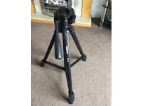 Unused Velbon EF-61 excellent tripod. Sturdy, with spirit levels and camera set up
