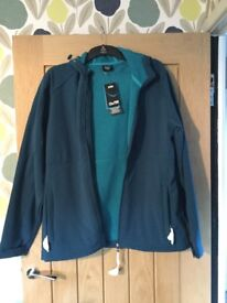 Men's sports jacket- waterproof. Brand new with tags. Largeunworn men's sports jacket.