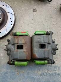 Honda civic type r ep3 front brake calipers