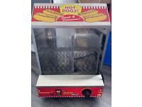2 tier commercial Hot dog warmer