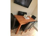 6 chair dinning room table for sale