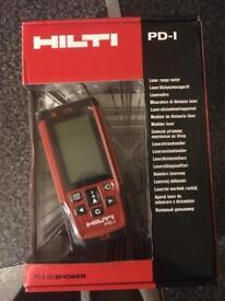 Hilti PD-1 Laser/Lazer Level Measure Genuine Brand New In Box