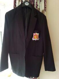 Sir Henry Floyd School Blazer - Black Size 36/12