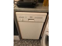 Slim line Bosch dishwasher for sale.