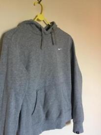 Nike Grey Hoodie| Size M