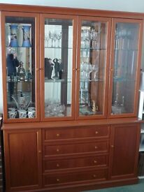 G Plan Display Cabinet