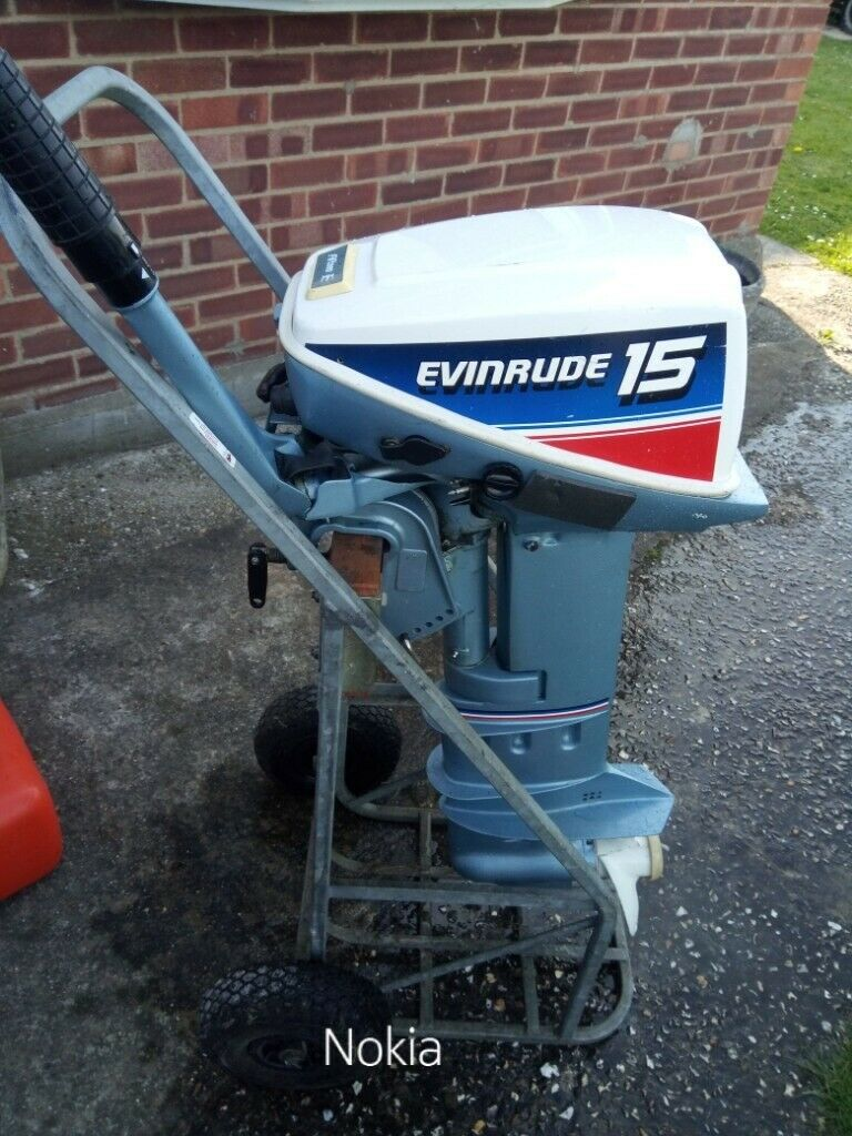 Evinrude 15 Hp >> Evinrude 15hp Outboard In Bognor Regis West Sussex Gumtree