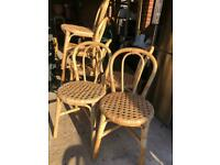 6 Wicker/Cane Chairs