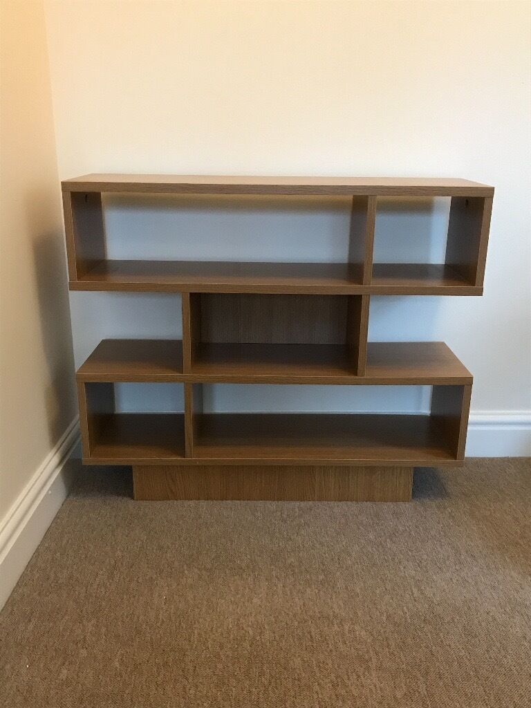 shelving unit / book case and end / coffee table - argos 'cubes