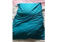 Giant Gilda Bean Bag Aqua Blue