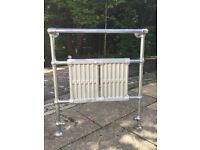 Retro 1930s style radiator towel rail