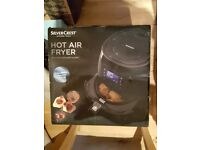 NEW - Never Used - Silvercrest Hot Air Fryer