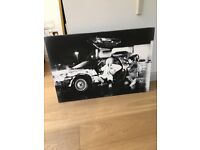 BACK TO THE FUTURE ART CANVAS (112cm X 76cm)