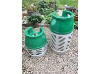 B.P. Gaslight cylinders