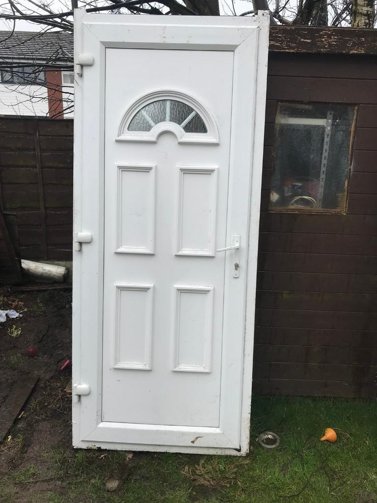 Used upvc door with frame and keys | in Cheadle Hulme, Manchester ...