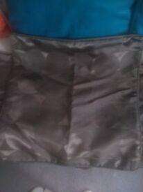 Brown cushion covers 45cm x 45cm