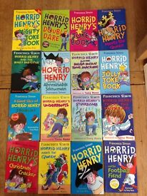 16 Horrid Henry Books