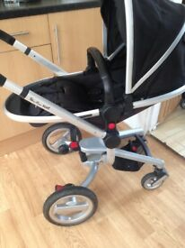 Silvercross silver cross surf pram travel system with silver cross car seat