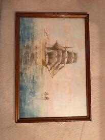 Seascape by Samuel Sykes 1850-1920