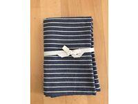 Brand new unused Muji cushion / pillow case - MADE IN JAPAN! (Dark Blue)