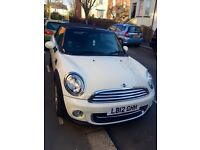 Mini Cooper convertible - pepper white - chilli + media pack