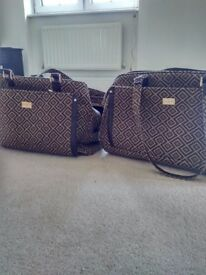 Matching hand luggage