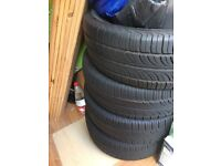 Car tyres for sale, lok like brownev. Any body intrested pleas call
