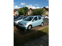 Toyota Yaris Blue VVT-I 2004 1.0L 5dr LOW MILEAGE only 65K Miles Manual Petrol Excellent Condition