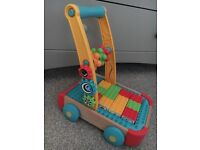 ELC wooden block walker