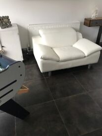 LeAther chair , love seat , sofa