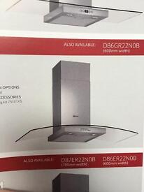 900 mm Curved Glass Extractor