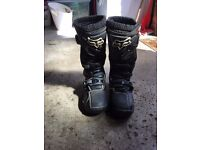 Fox motorcross boots