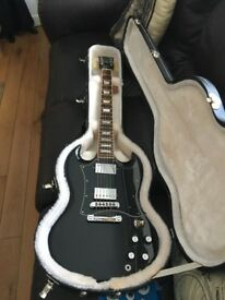 Gibson SG Standard (Ebony) 2012 with Hardcase