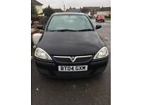 Vauxhall Corsa 1.2 2004 Black (PERFECT FOR NEW DRIVER)