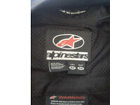 Alpinestars One-Piece Leathers. Size USA 42, EU 52.