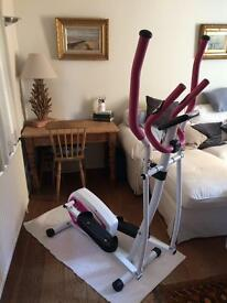 Pink & White Cross Trainer