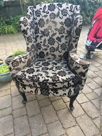 Very large armchair