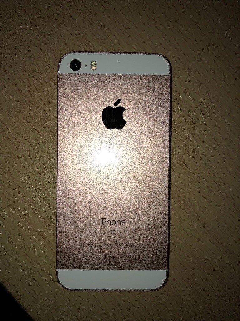 UNLOCKED IPHONE SE 64GB ROSE GOLD