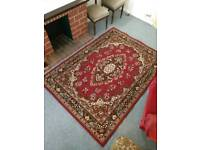 Large ornate rug. FREE LOCAL DELIVERY.