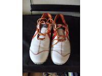 Footjoy Golf Shoes (White/Orange)