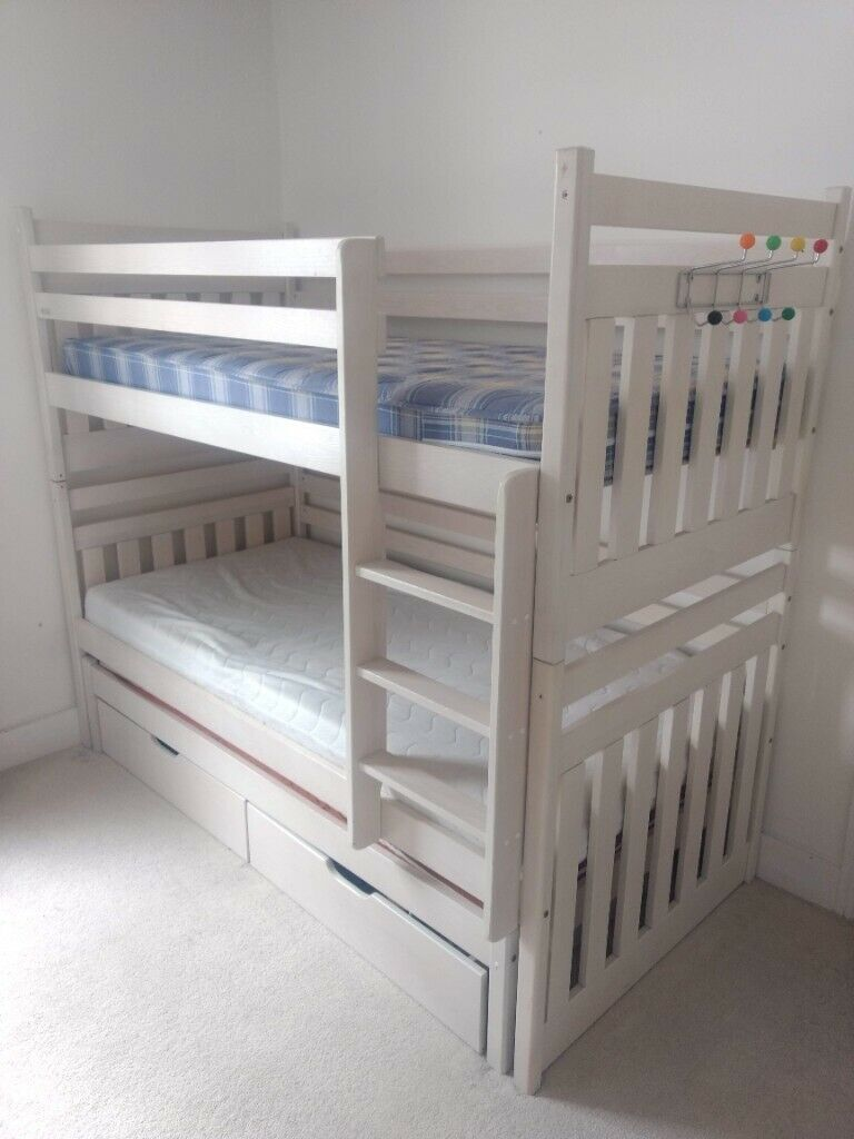 Picture of: Kids Bunk Beds With Extra Pull Out Bed And Storage Draws In Brighton East Sussex Gumtree
