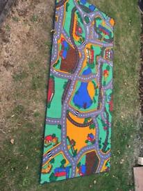 Children's car/vehicle mat