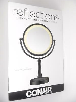 Conair Reflections 3-Way Touch Control Double-Sided Lighted Makeup Vanity Mirror